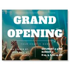 Grand Opening Crowd InviteCard
