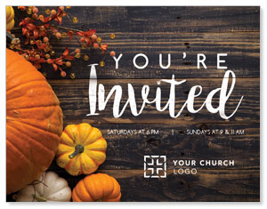 Pumpkins Youre Invited ImpactMailers