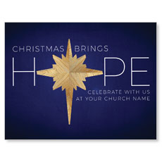 Hope Star InviteCard