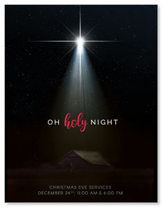 Oh Holy Night InviteCards