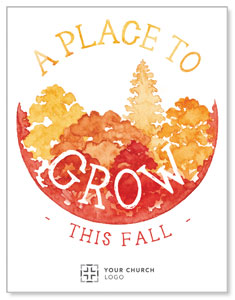 Place to Grow Fall InviteCards