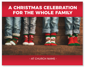 Family Christmas Socks ImpactMailers