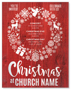 Christmas Icons Wreath ImpactMailers