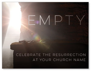 Empty Tomb Open ImpactMailers