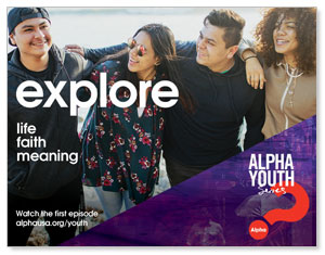 Alpha Youth Purple ImpactMailers