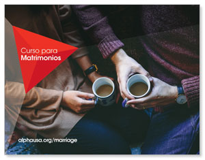Alpha Marriage Course Coffee Spanish ImpactMailers