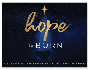 Christmas Star Hope is Born ImpactMailers