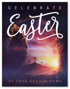 Dramatic Tomb Easter ImpactMailers