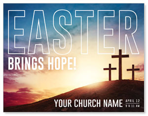 Easter Hope Outline ImpactMailers