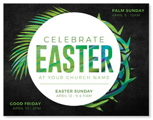 Easter Palm Crown ImpactMailers