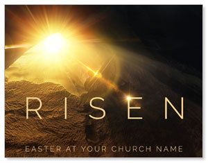 Risen Light Tomb ImpactMailers