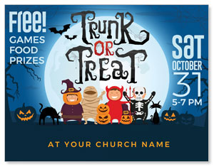 Trunk or Treat Kids ImpactMailers
