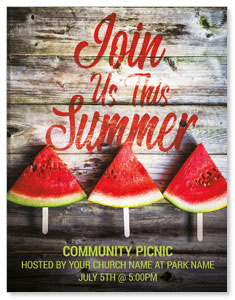 Summer Watermelon Events ImpactMailers