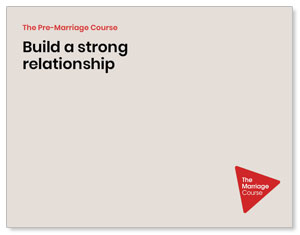 Alpha Pre-Marriage Strong Relationship Beige ImpactMailers