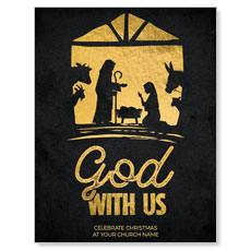 God With Us Gold