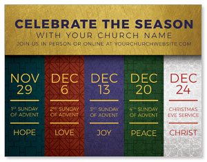 Celebrate The Season Advent ImpactMailers