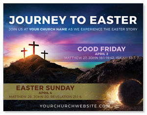 Journey To Easter ImpactMailers