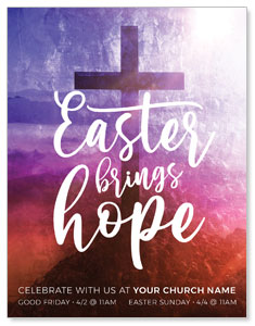 Easter Brings Hope Cross ImpactMailers