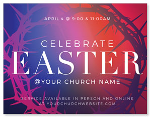 Celebrate Easter Crown ImpactMailers