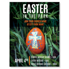 Easter In Park Grass