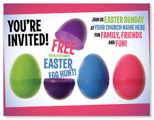Egg Hunt Plastic Eggs ImpactMailers
