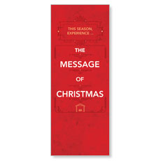 The Message of Christmas InviteTicket