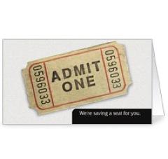Ticket InviteCard