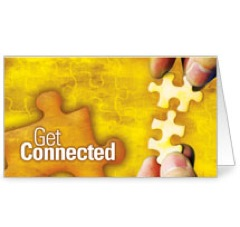 Get Connected Invite Card