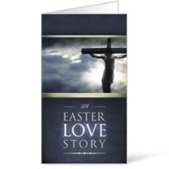 Easter Love Story InviteCard