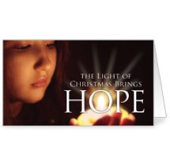 Light Brings Hope Invitation