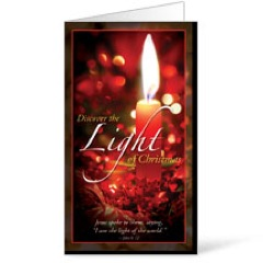 Discover Christmas Light Invitation