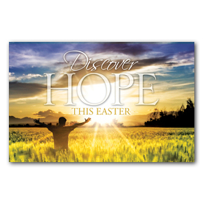 Easter Hope Field Medium InviteCards