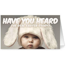 Baby Bunny Ears InviteCard