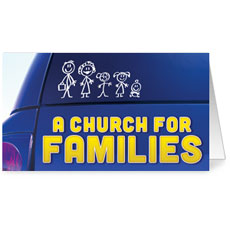 A Church for Families InviteCard