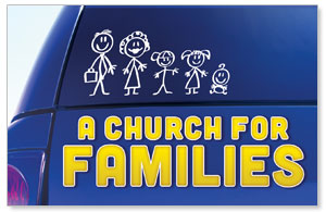 Church for Families InviteCards