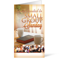 Wow! Sunday Small Group Sunday InviteCard