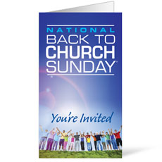 Back To Church Sunday 2013 InviteCard