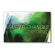 Easter Changes InviteCard
