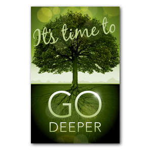 Go Deeper Time InviteCards