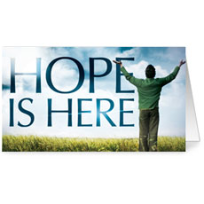 Hope is Here InviteCard
