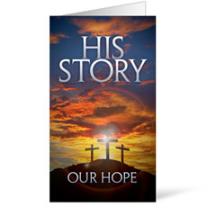 His Story Our Hope InviteCard