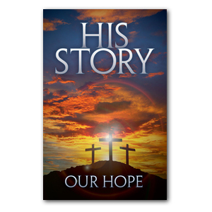 His Story Our Hope Medium InviteCards