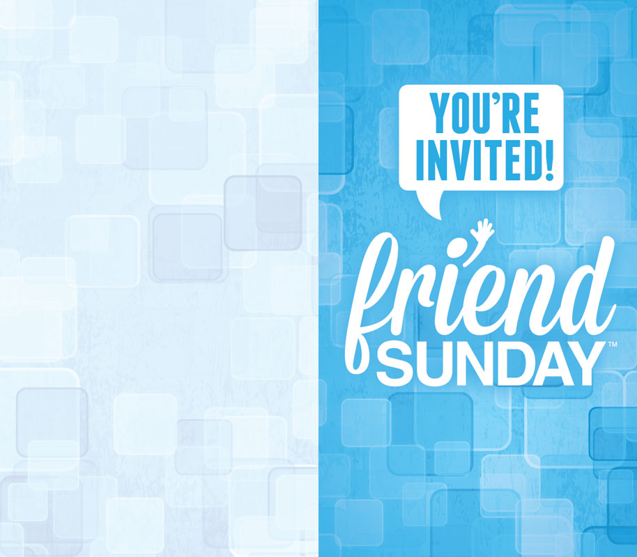 Friend Sunday | Invite Cards | Friend Sunday