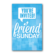 Friend Sunday InviteCard