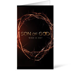 Son of God Crown Invite Card