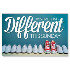 Different Shoes InviteCard