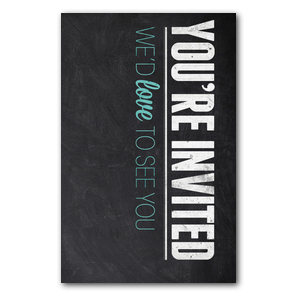 Slate Welcome InviteCards