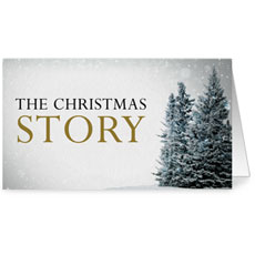 Christmas Story Trees InviteCard