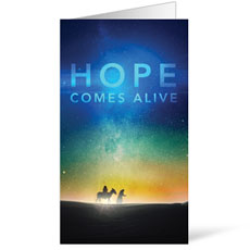 Hope Comes Alive InviteCard