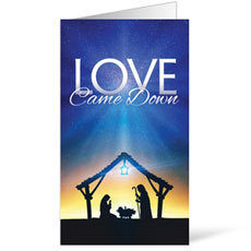 Love Came Down InviteCard